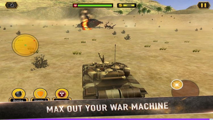 Real Battle Blitz: Tank 3D War