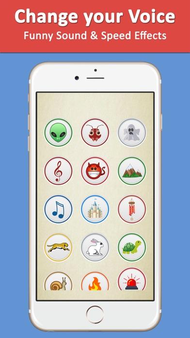 Voice Changer Recorder Fuvoch screenshot one