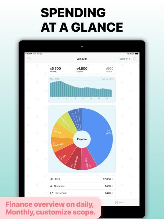 Receipt Box - Easy Spending Tracker screenshot
