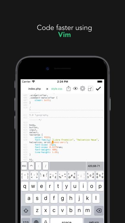 Buffer Editor - Code Editor screenshot-5