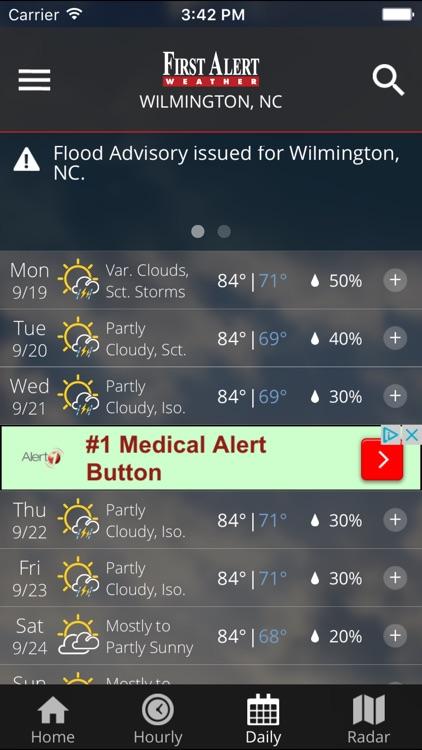 WECT 6 First Alert Weather screenshot-3
