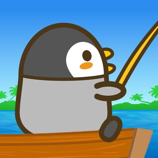 釣りペンギン+