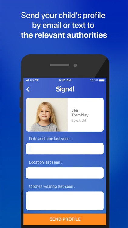 Sign4l: Child ID