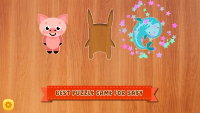 Baby Animal Shape Block Puzzle screenshot two