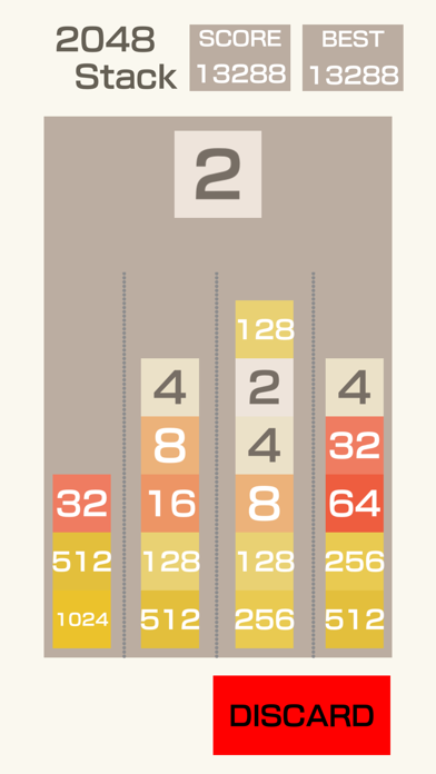 2048-Stack screenshot 4