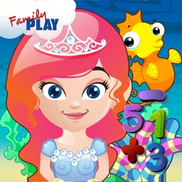 Mermaid Princess Math for Kids