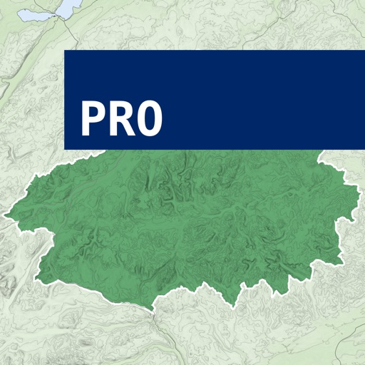 The Cairngorms Outdoor Map Pro