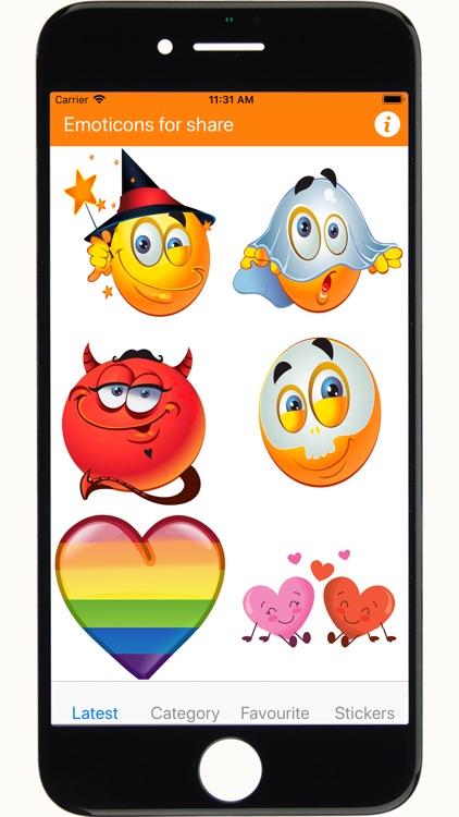 Emojis stickers for whatsapp screenshot-3