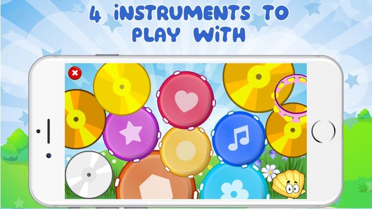 Happy Piano - Drum & Xylophone