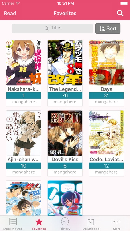 Manga Reader - Manga Viewer screenshot-2