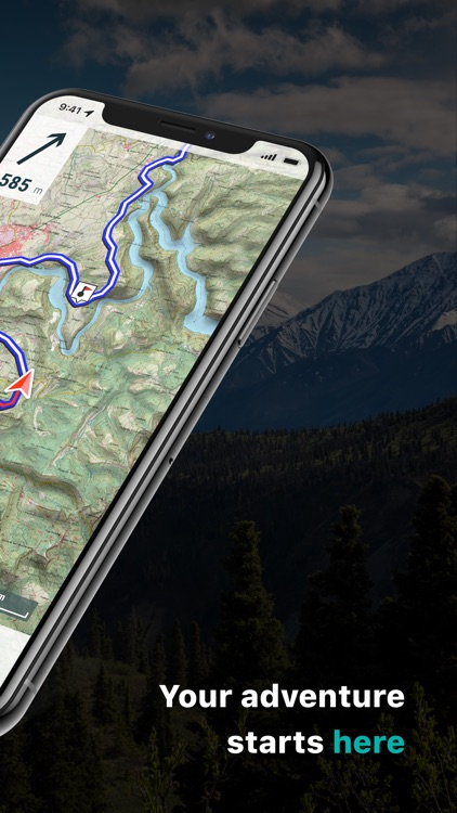 TwoNav: Maps Routes