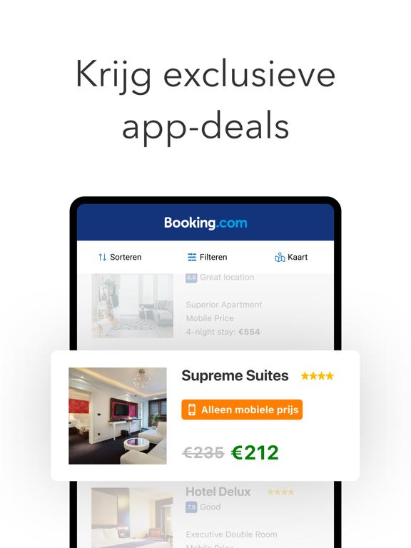 Booking.com Reisdeals iPad app afbeelding 3