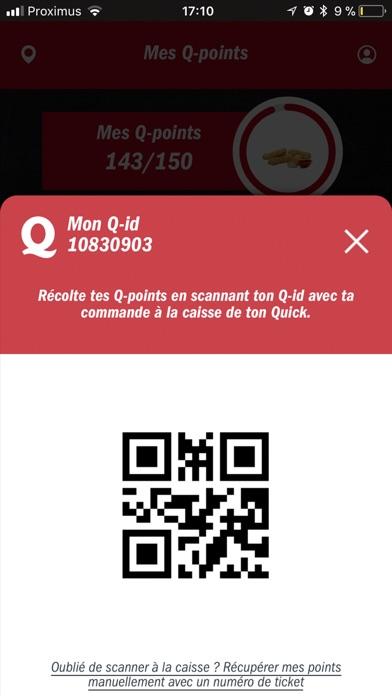 Screenshot for MyQuick in Belgium App Store