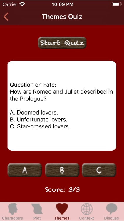 Revise Romeo and Juliet