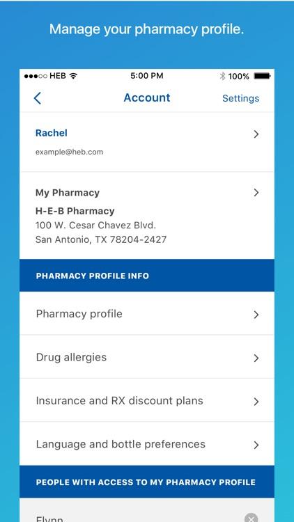 H-E-B Pharmacy screenshot-5