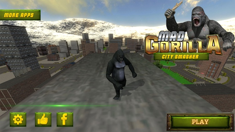 Ultimate Rampage Mad Gorilla