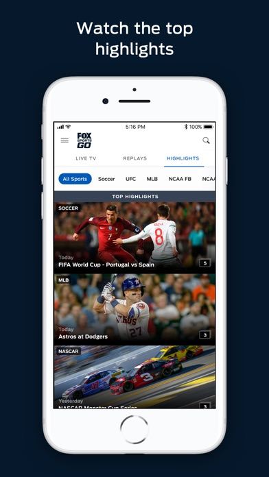 Download FOX Sports GO: Watch Live for Pc