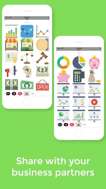 Business Stickers screenshot-3