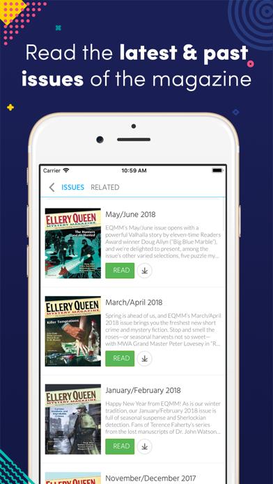 Ellery Queen Mystery Magazine review screenshots