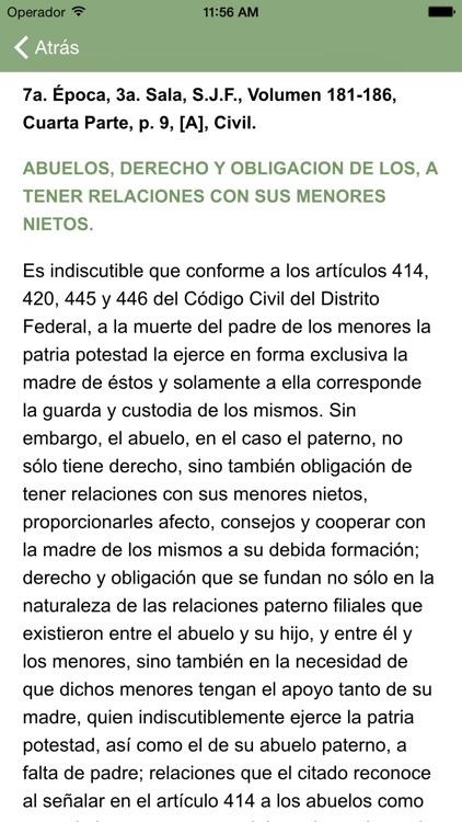 i-Lex Jurisprudencia Civil screenshot-3