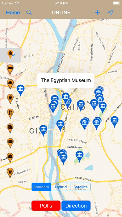 Cairo Egypt Travel Map By Shine George