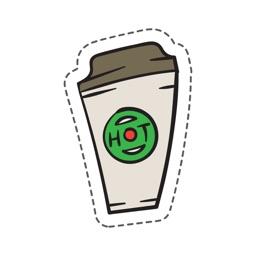 Coffe Stickers