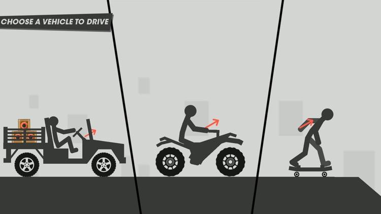 X-Stickman  Dismounting screenshot-4