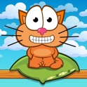 Hungry cat: puzzle for family