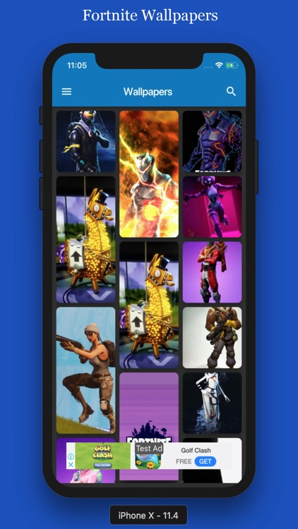 Fortnite Wallpaper Iphone X