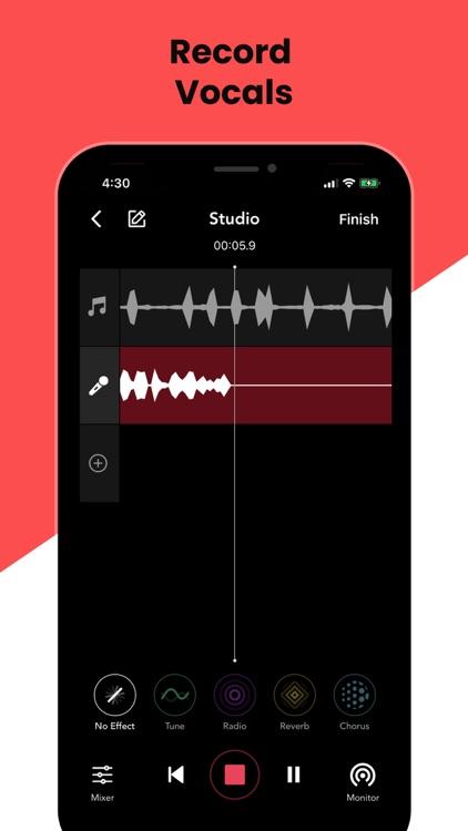 Rapchat: Song Maker Studio screenshot-4