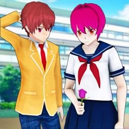 Anime High School Sports Girl
