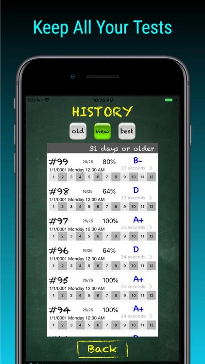 TimesX Lite Times Tables Quiz screenshot-5