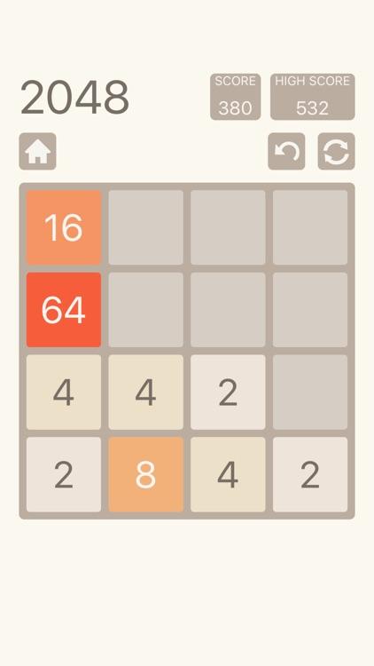 2048: Number Puzzle Game screenshot-0