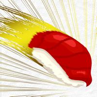 寿司フリック - タイピング 練習 ゲーム