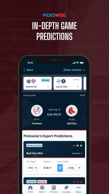 Pickswise Sports Betting screenshot-3