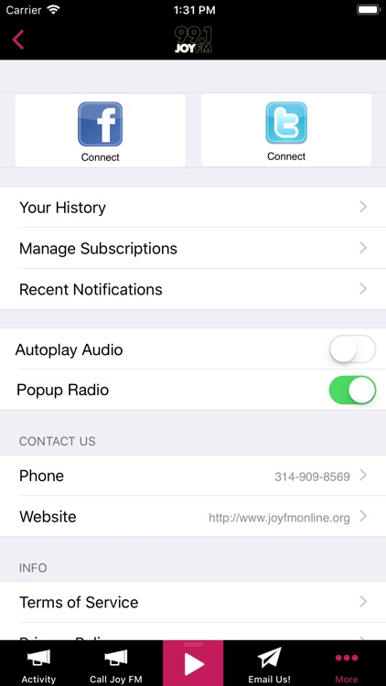 99.1 JOY FM – St. Louis screenshot-3