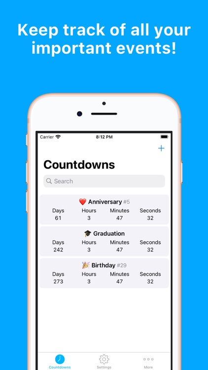Countdowns - Event Day Counter