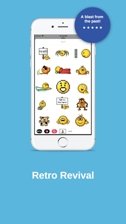 Retro Smileys Sticker Pack screenshot-4