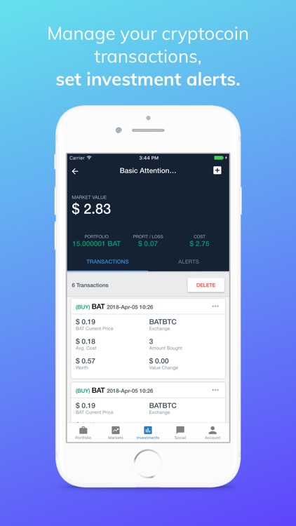 FullDime Crypto Saving Tracker screenshot-5