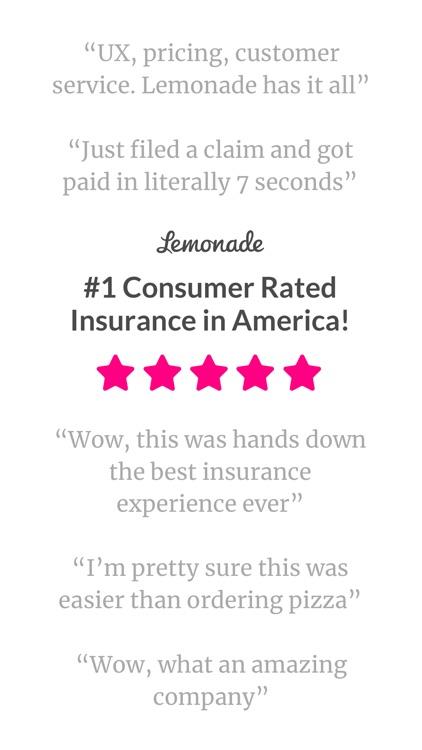 Lemonade Insurance screenshot-4