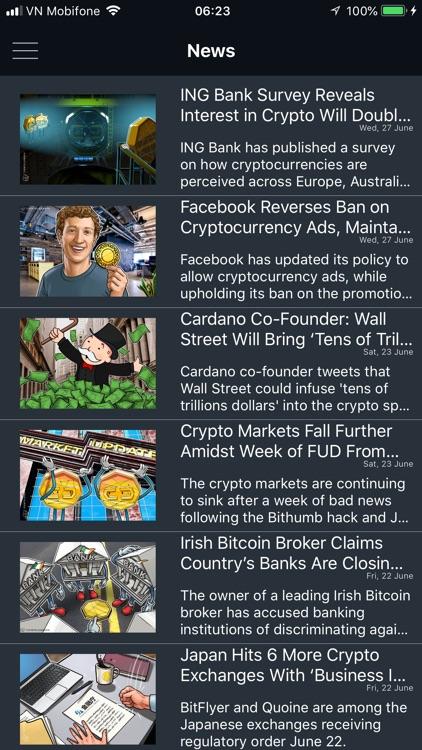 Crypto Market Cap Tracker screenshot-3