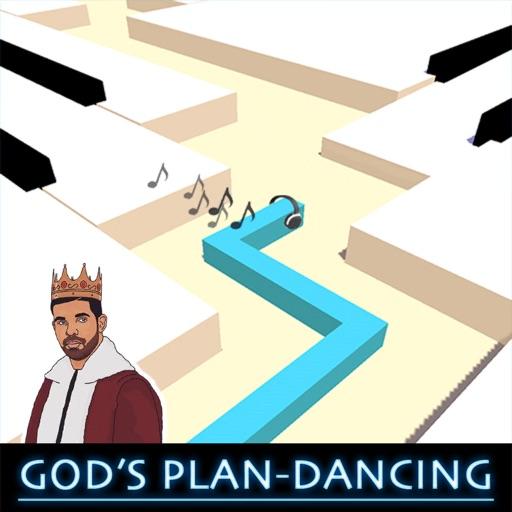 Gods Plan Dancing Line Piano