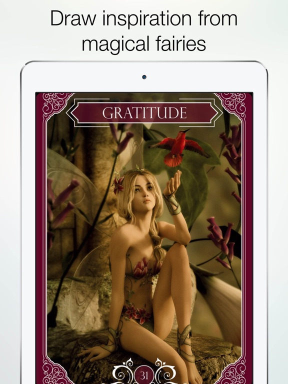 Screenshot #5 pour Ask the Fairies Oracle Cards