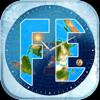 Blue Water Bay - Flat Earth Sun, Moon & Zodiac artwork