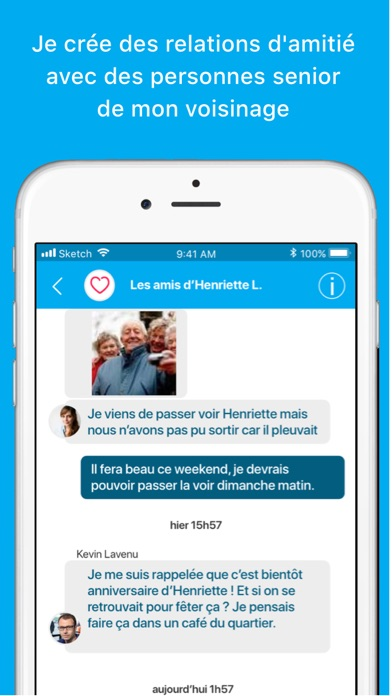 Voisin-Age Amitiés de quartier screenshot one