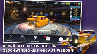Screenshot 1 Rocket Carz Racing