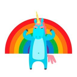 Emotional Unicorn Stickers