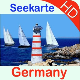 Germany HD GPS Nautical Chart