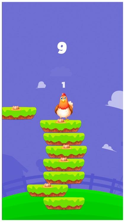 Happy Chicken Jump Up