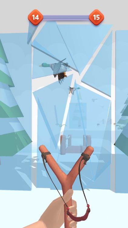 Sling Birds 3D screenshot-4